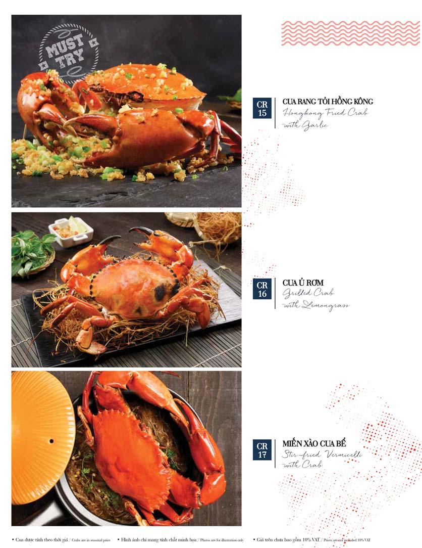 Menu Holy Crab – Vincom Metropolis Liễu Giai  13