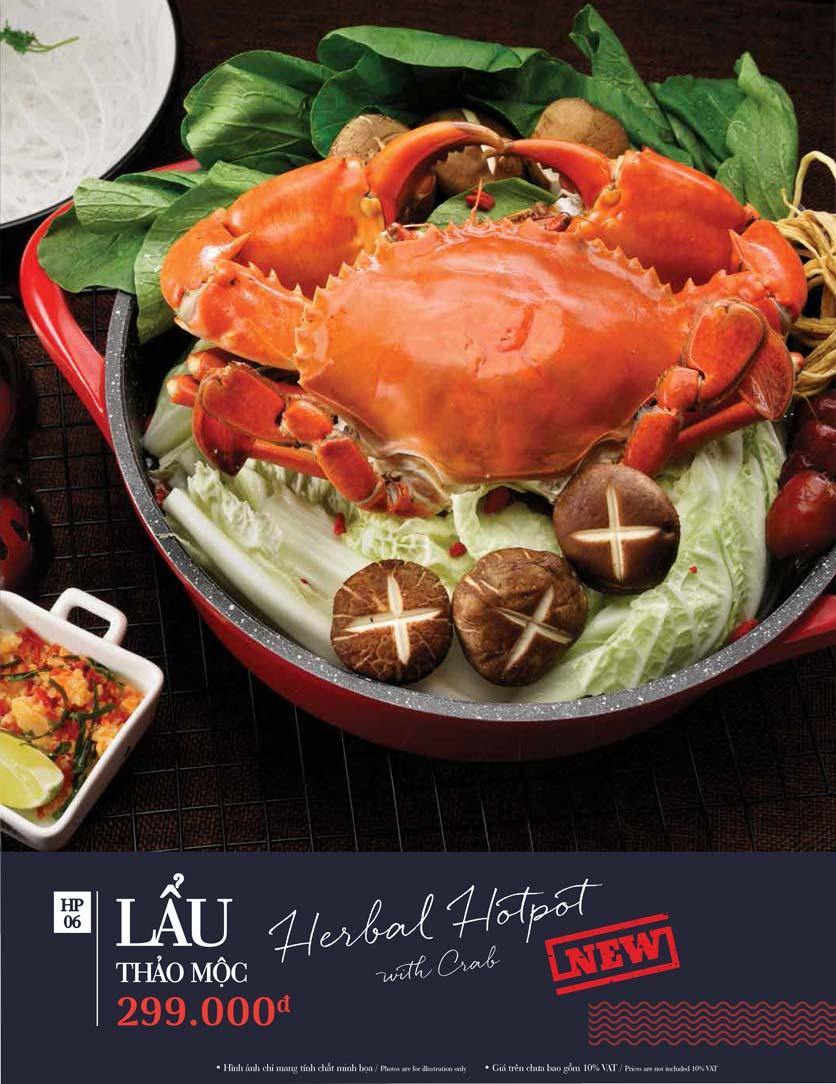 Menu Holy Crab – Vincom Metropolis Liễu Giai  15