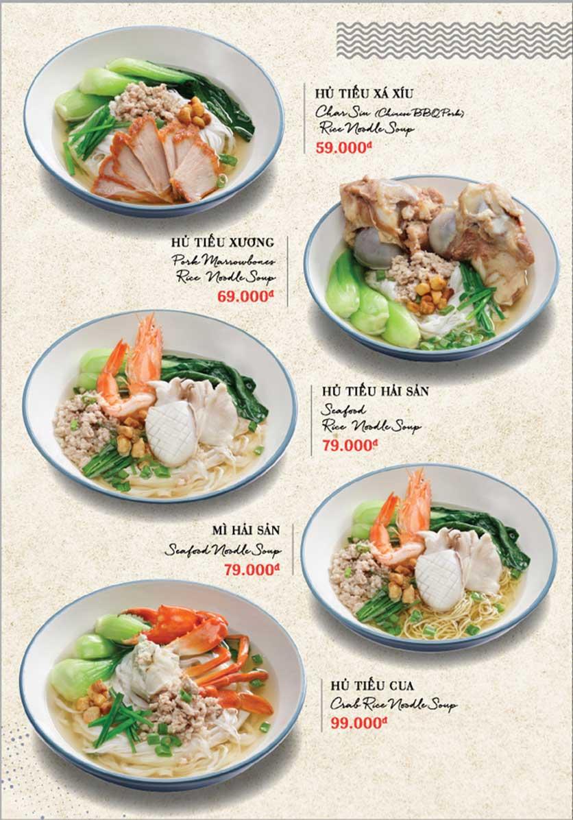 Menu Holy Crab – Phan Xích Long  2