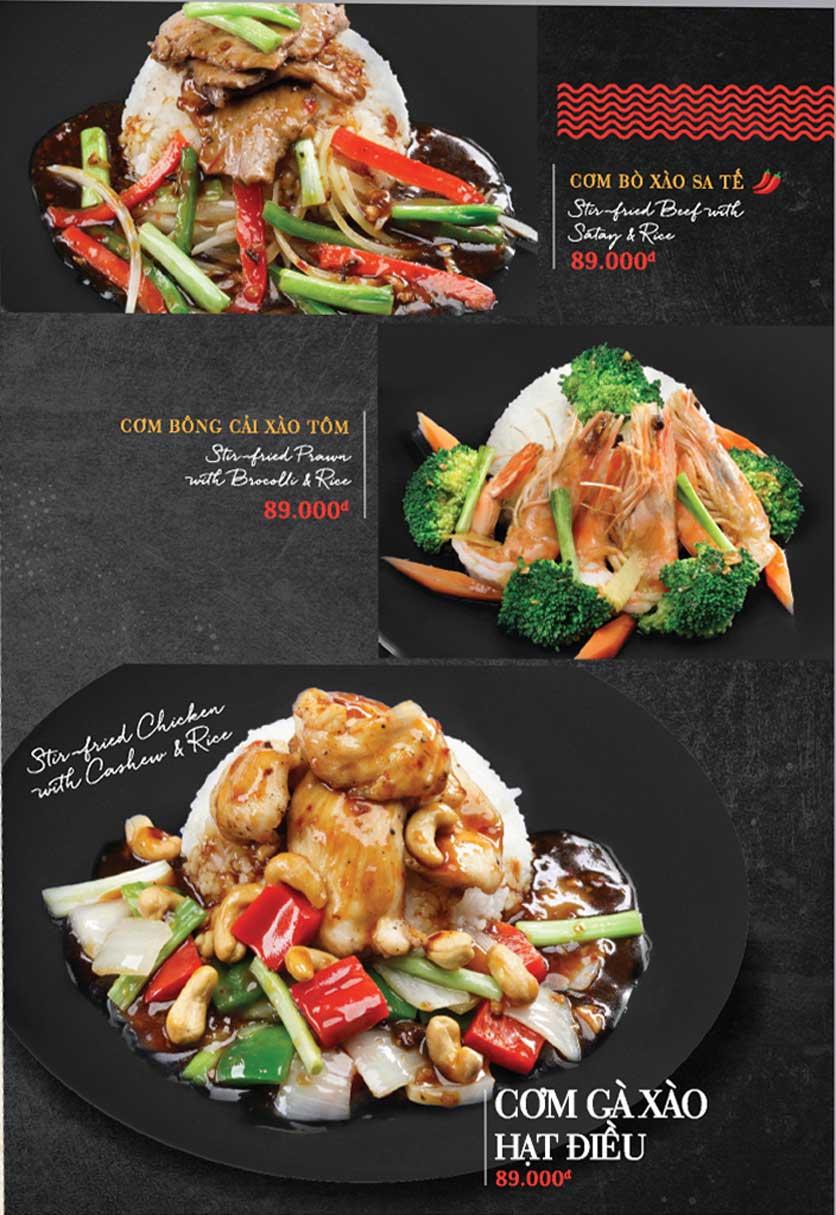 Menu Holy Crab – Phan Xích Long  3