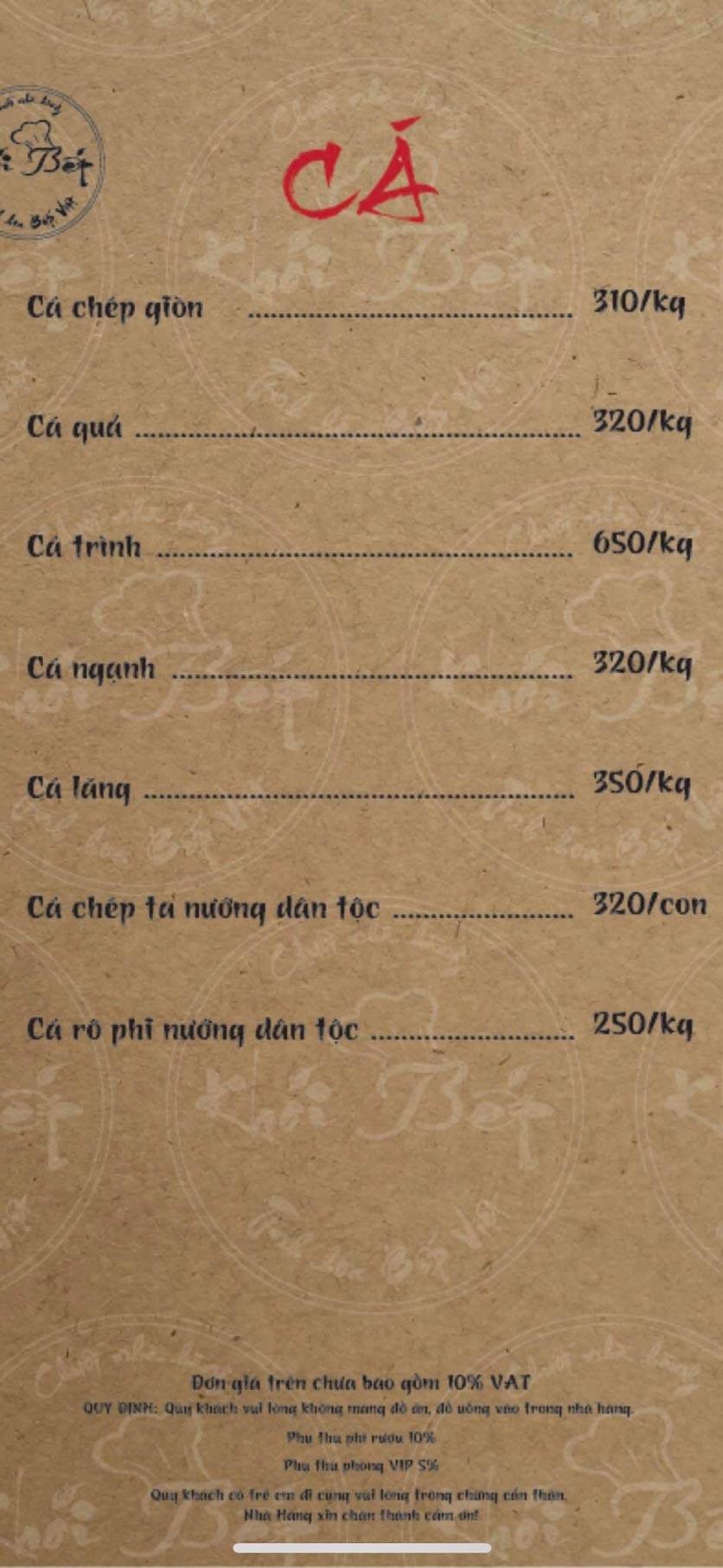 Menu Khói Bếp - Nguyễn Đình Chiểu 6