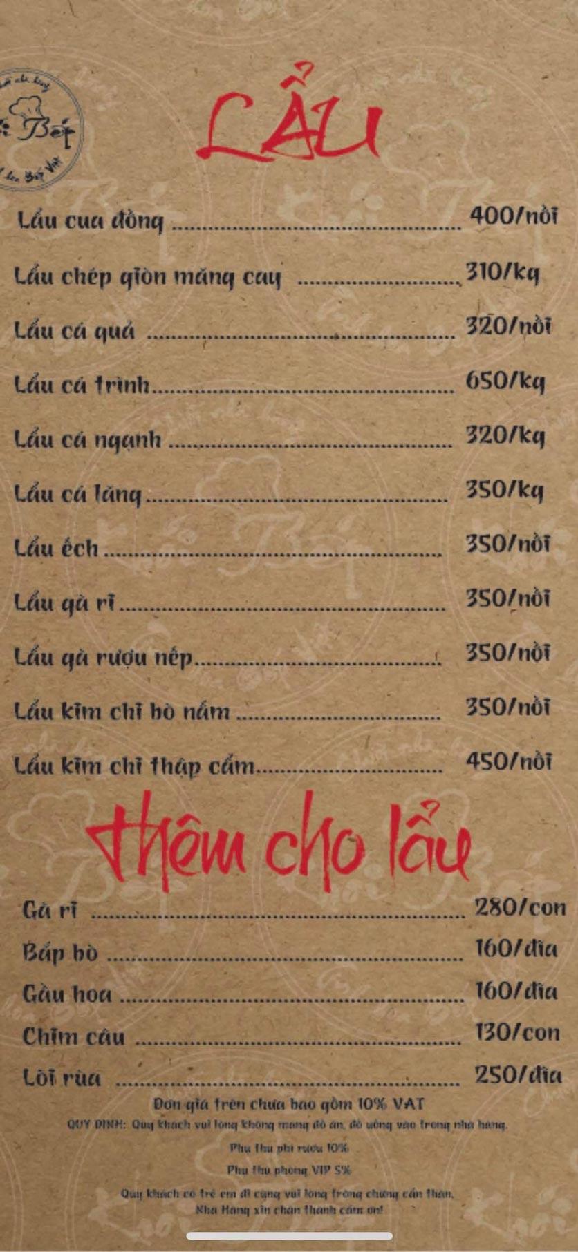 Menu Khói Bếp - Nguyễn Đình Chiểu 7