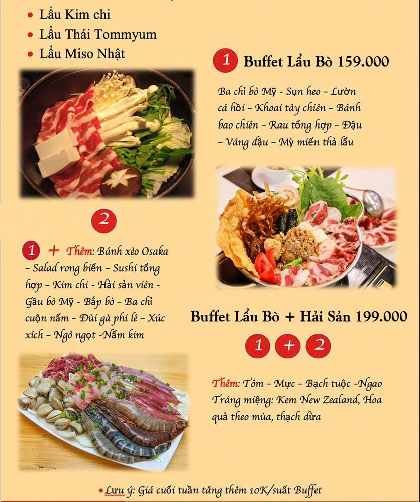 Menu Kochi BBQ - Hà Đông  1