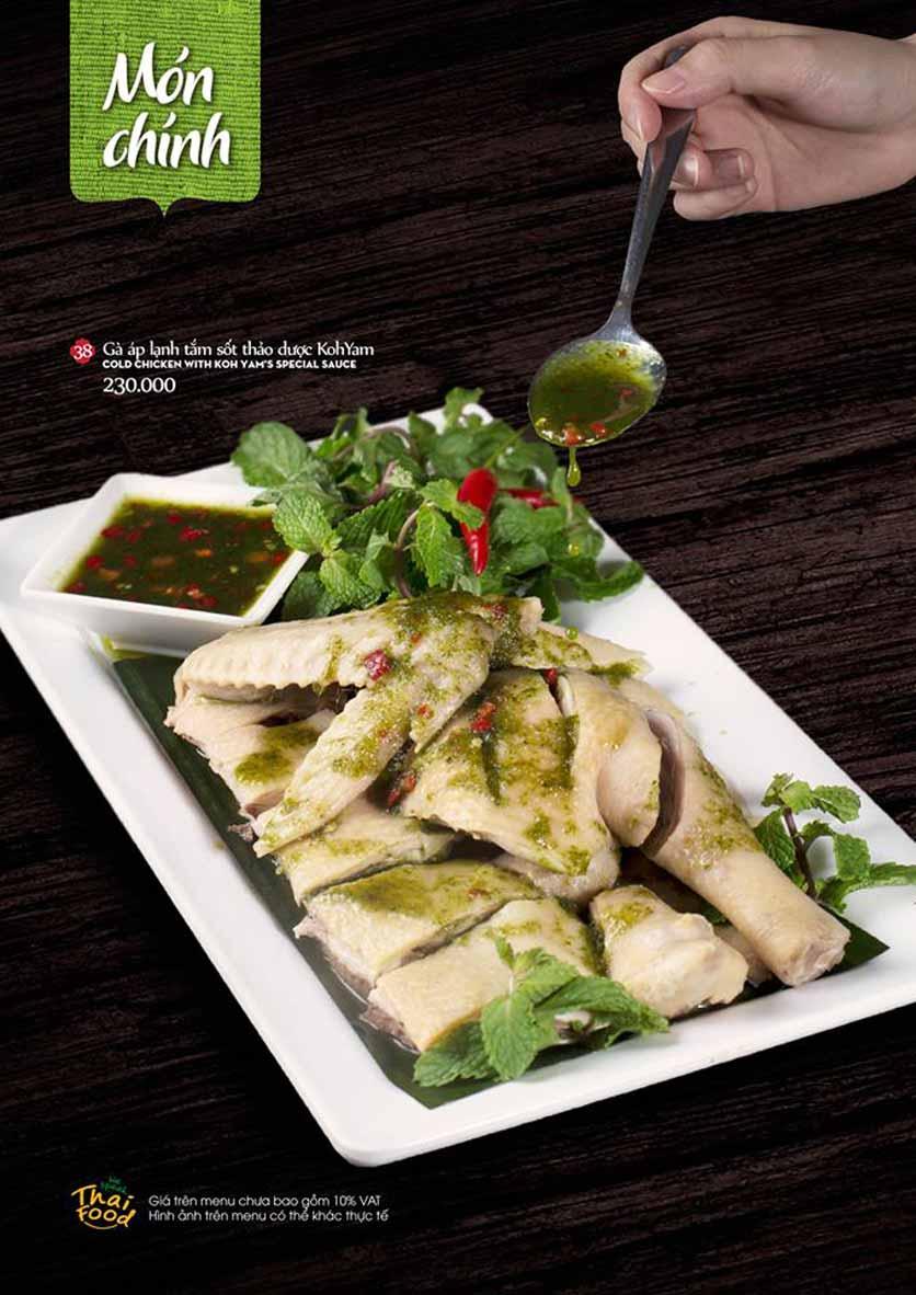 Menu Bếp Thái Koh Yam - Quang Trung 9