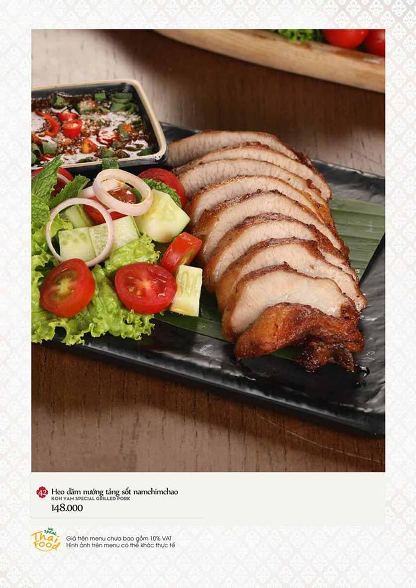 Menu Bếp Thái Koh Yam - Quang Trung 11