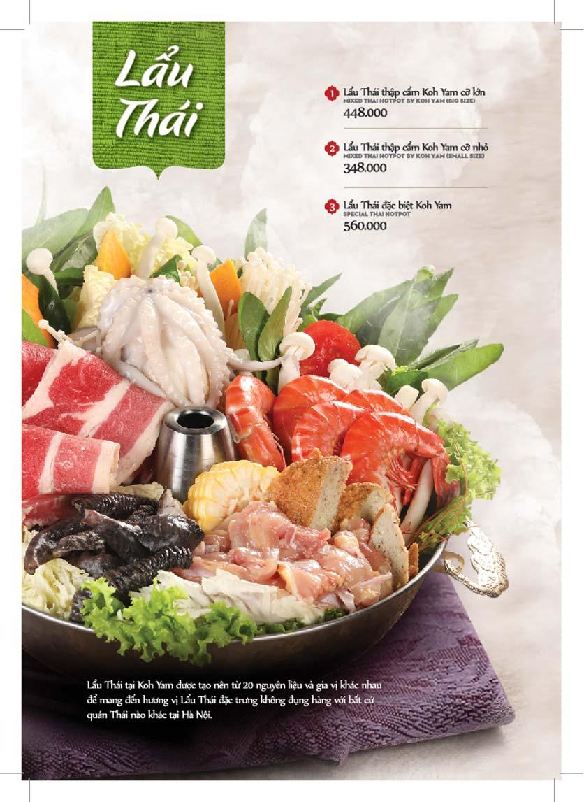 Menu Bếp Thái Koh Yam - Giảng Võ    18