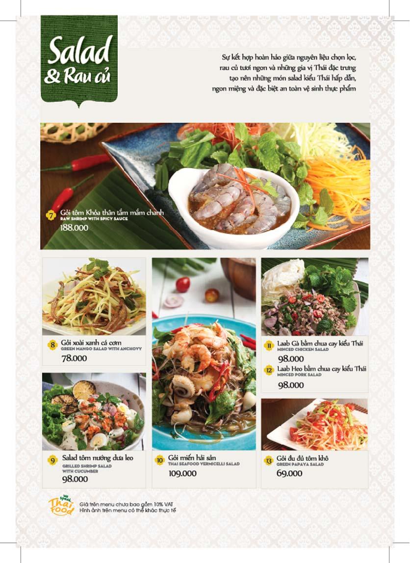 Menu Bếp Thái Koh Yam - Giảng Võ    4
