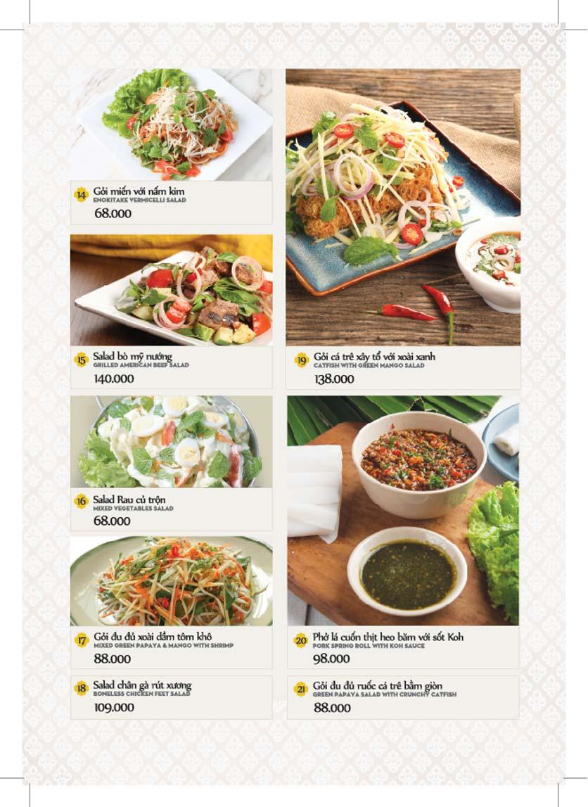 Menu Bếp Thái Koh Yam - Giảng Võ    5