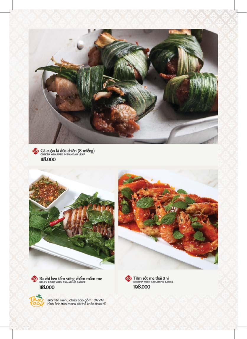 Menu Bếp Thái Koh Yam - Giảng Võ    10