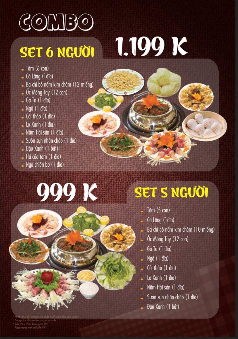 Menu Linh Nhạn Restaurant– Xuân Thủy 5