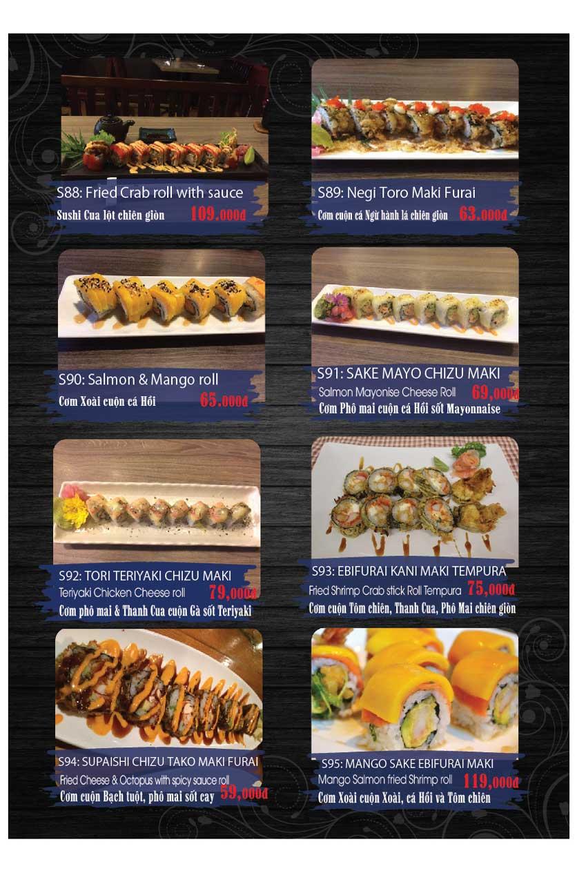 Menu Miya Sushi & BBQ  10