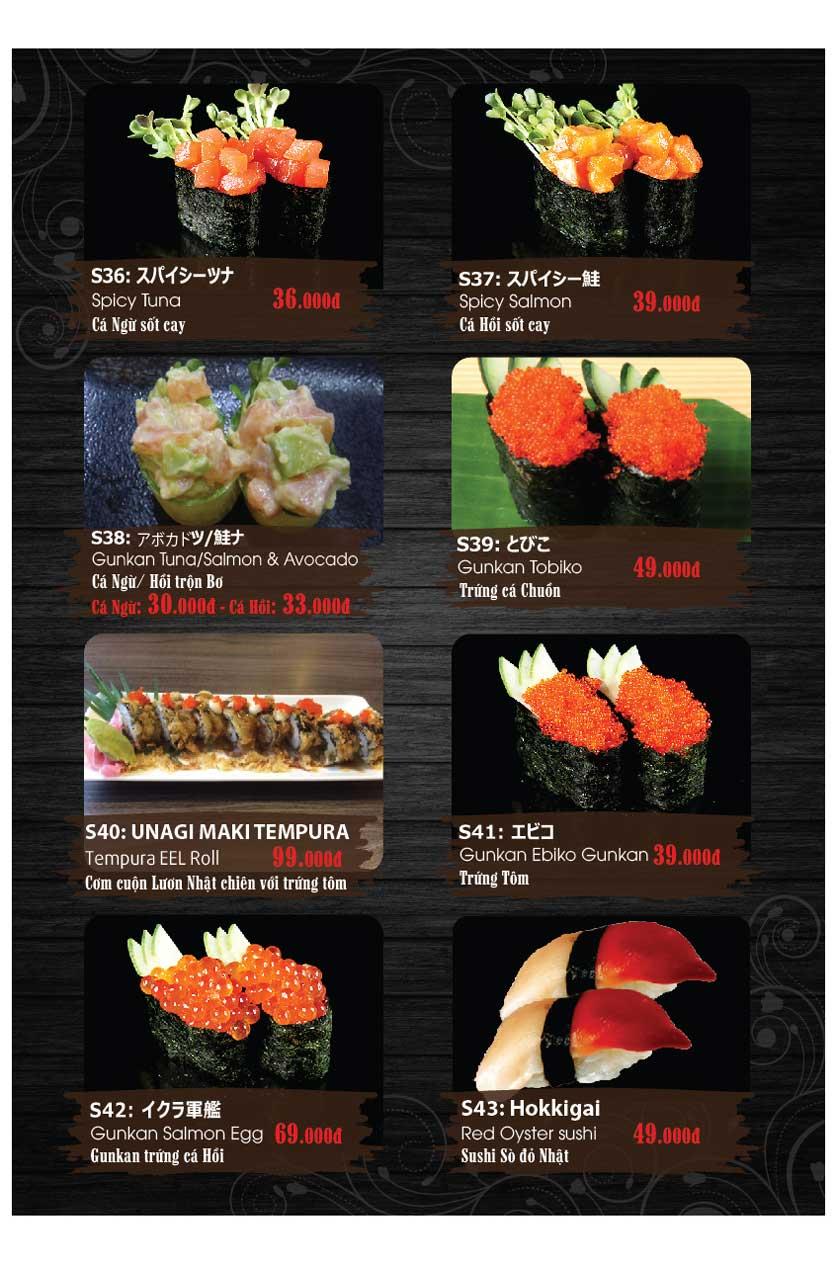 Menu Miya Sushi & BBQ  11