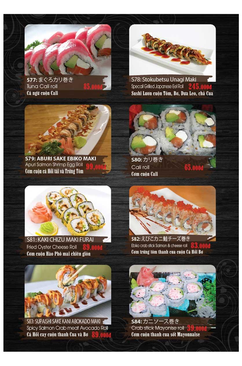 Menu Miya Sushi & BBQ  12