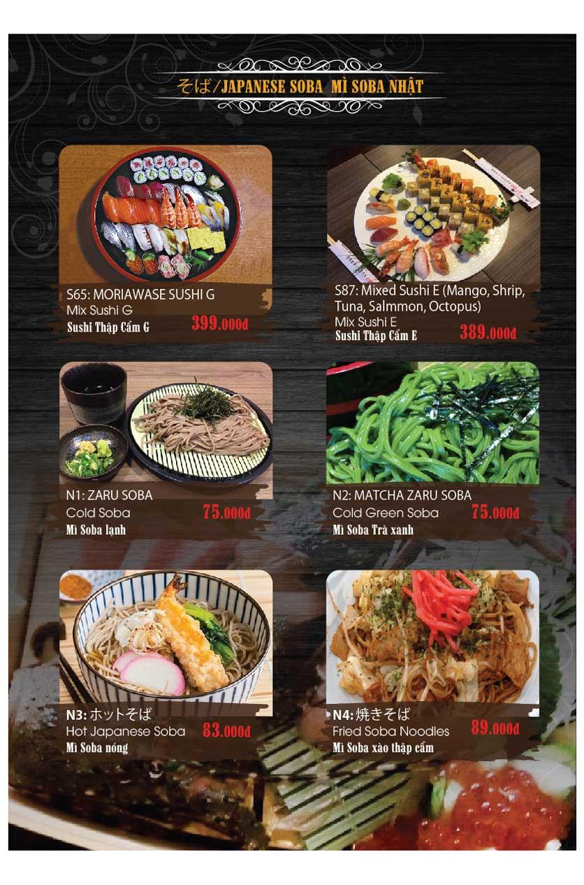 Menu Miya Sushi & BBQ  13