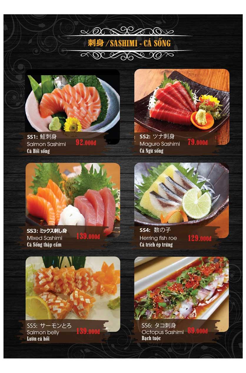 Menu Miya Sushi & BBQ  14