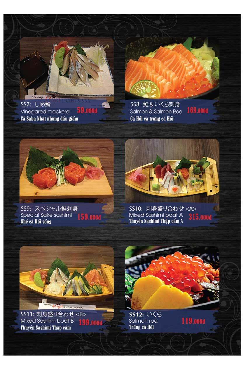 Menu Miya Sushi & BBQ  15