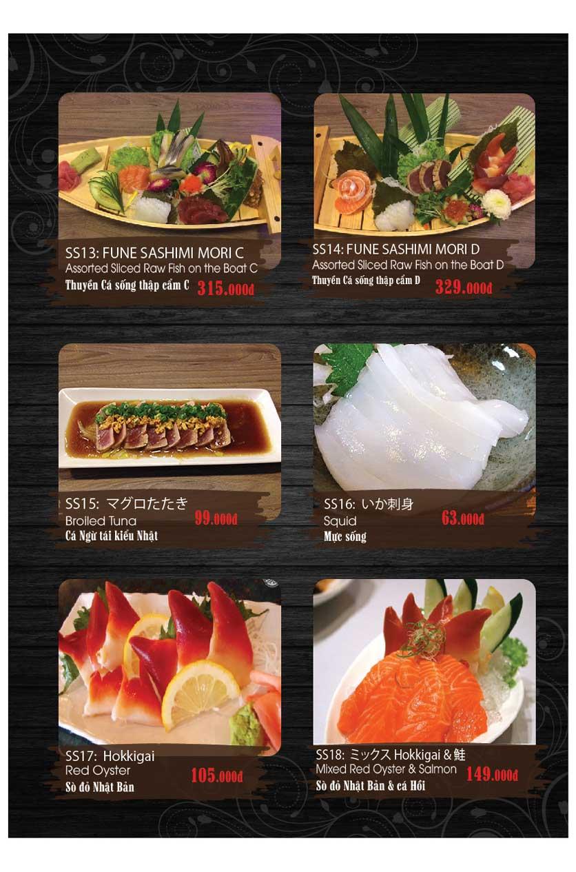 Menu Miya Sushi & BBQ  16