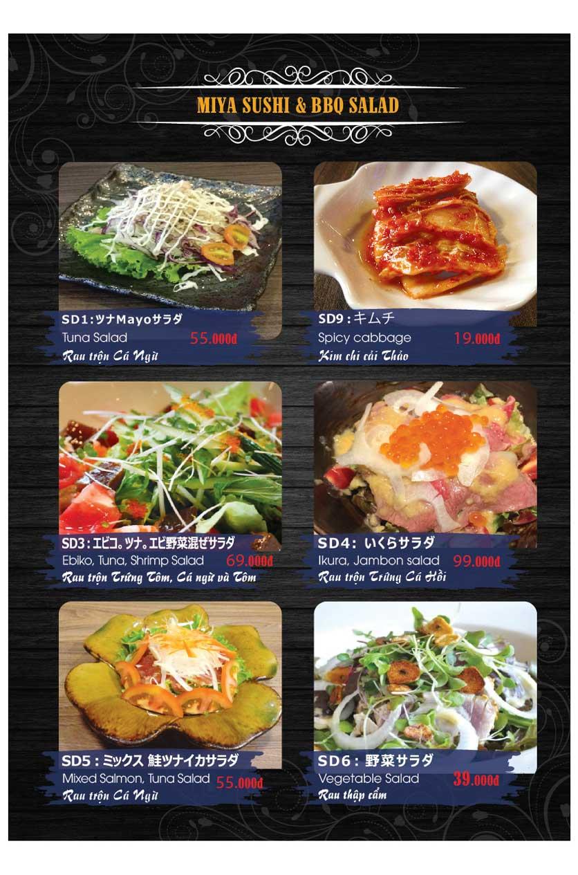 Menu Miya Sushi & BBQ  18