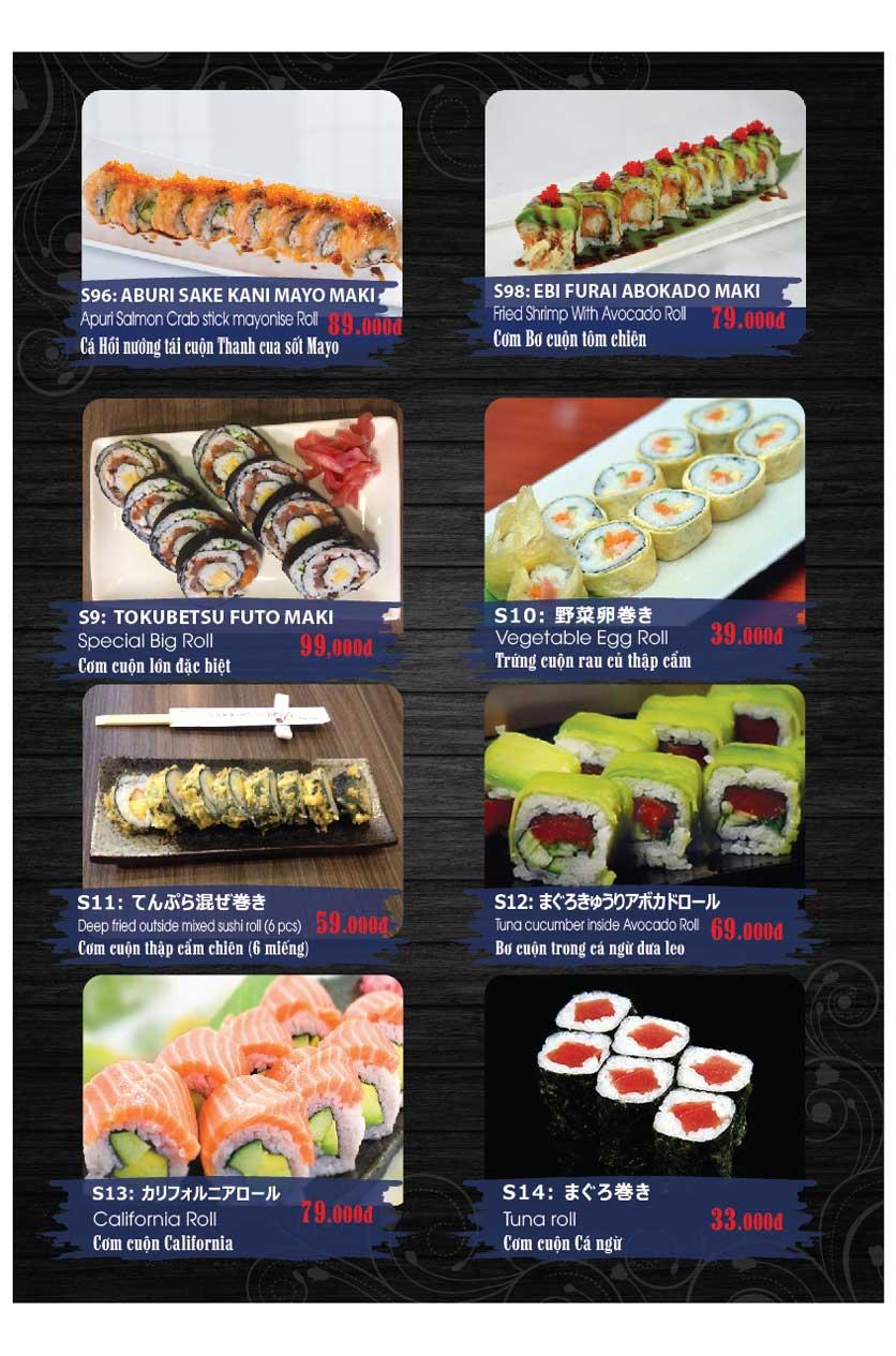 Menu Miya Sushi & BBQ  2