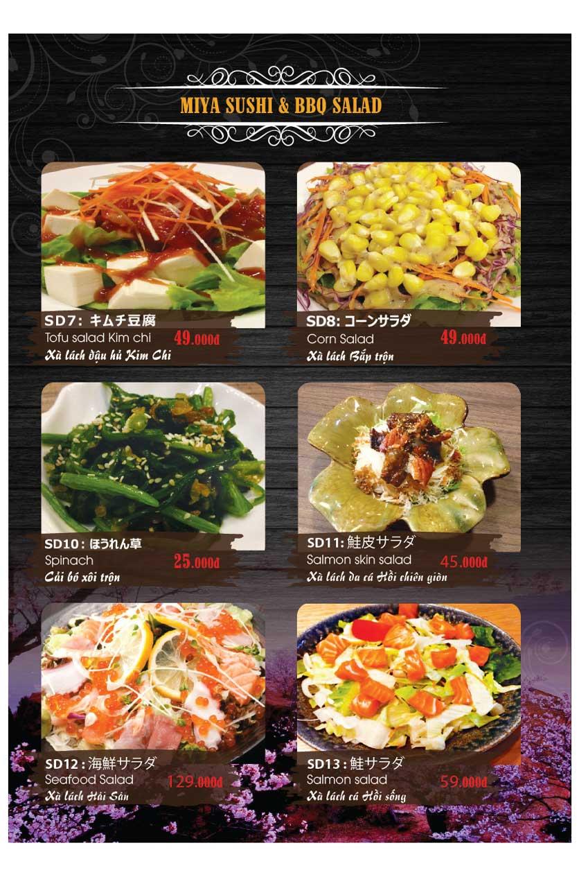 Menu Miya Sushi & BBQ  20