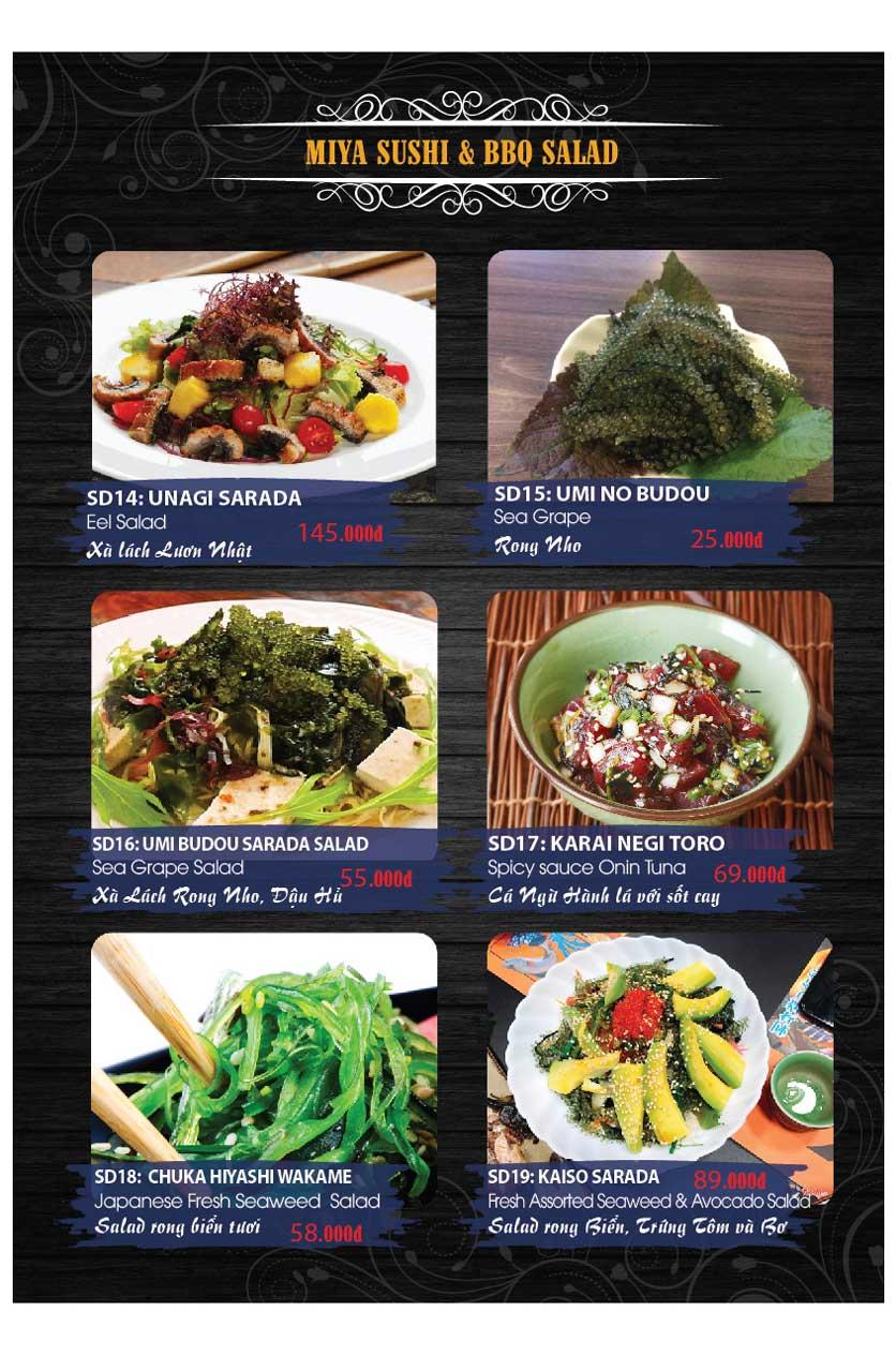 Menu Miya Sushi & BBQ  21