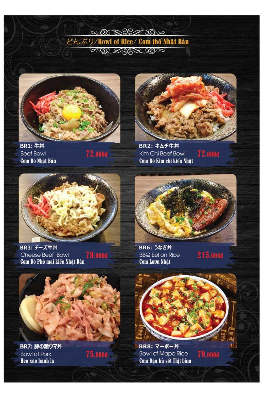 Menu Miya Sushi & BBQ  23