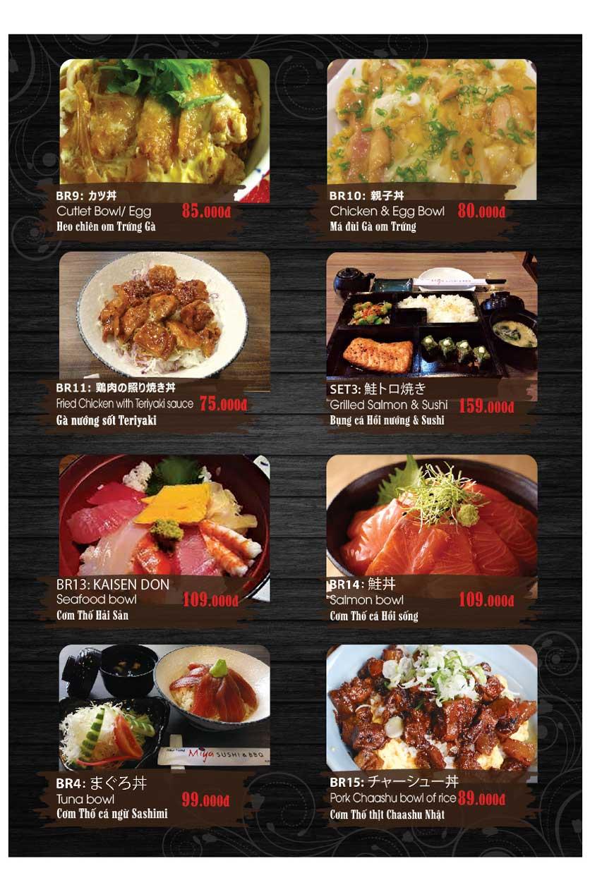 Menu Miya Sushi & BBQ  24