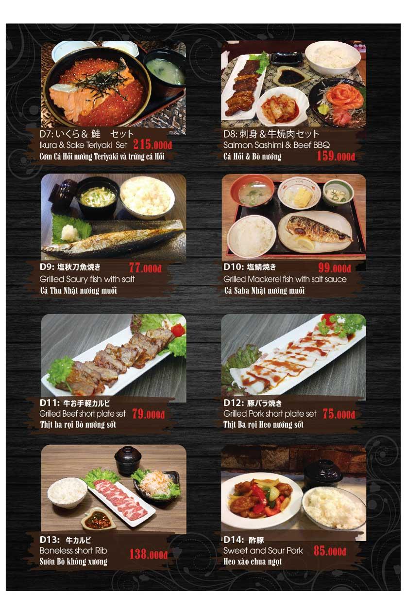 Menu Miya Sushi & BBQ  27