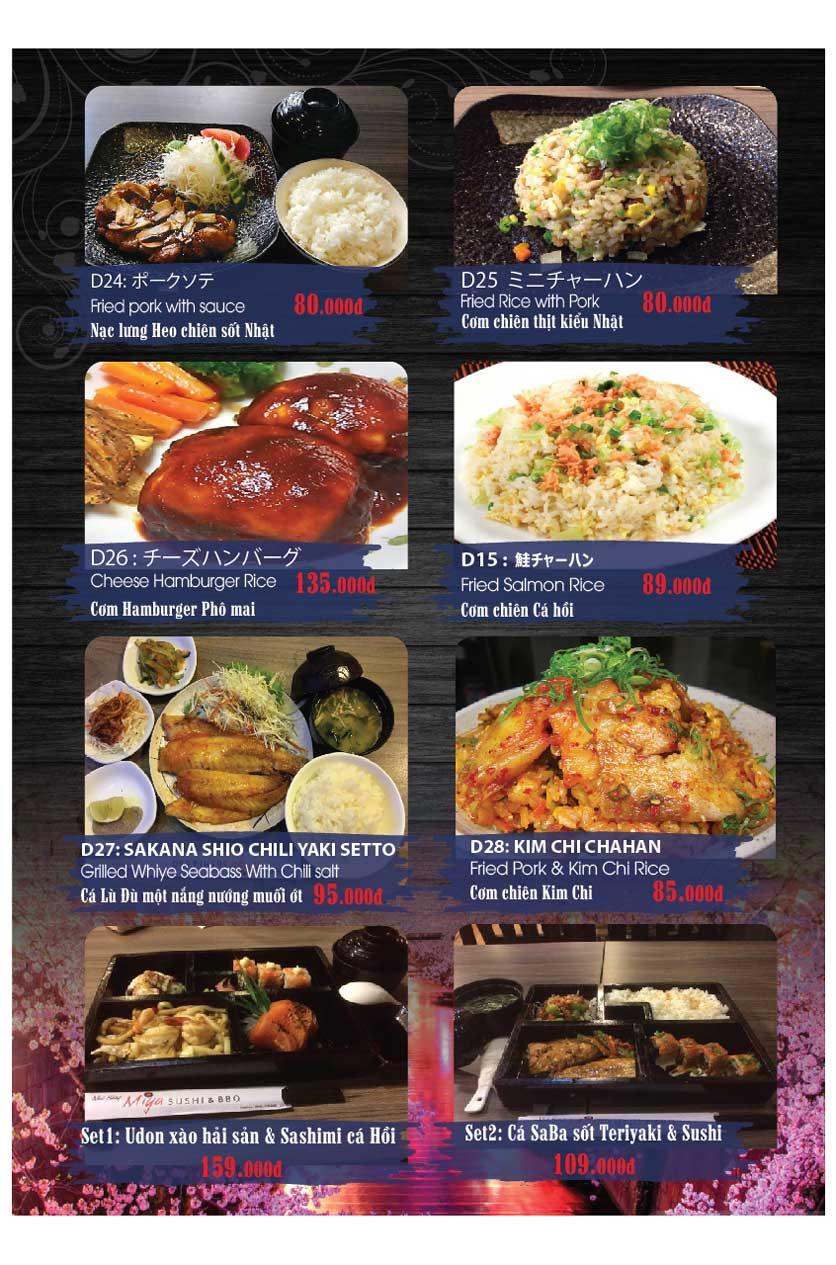 Menu Miya Sushi & BBQ  28
