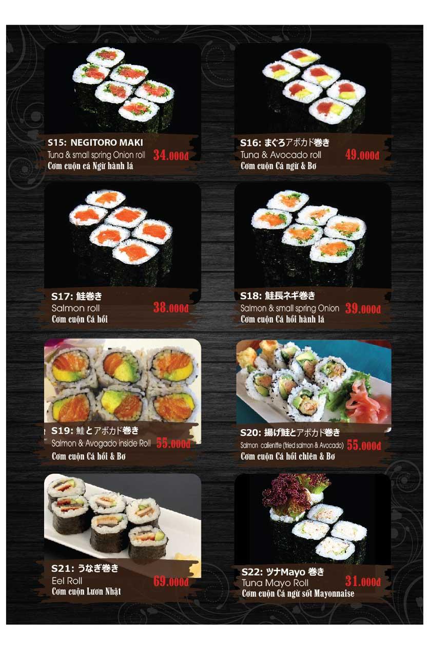 Menu Miya Sushi & BBQ  3