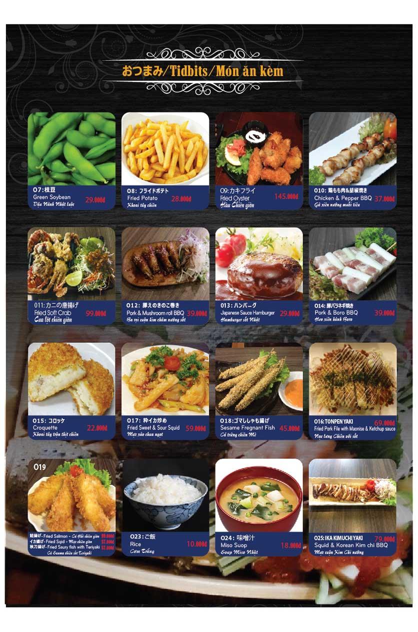 Menu Miya Sushi & BBQ  30