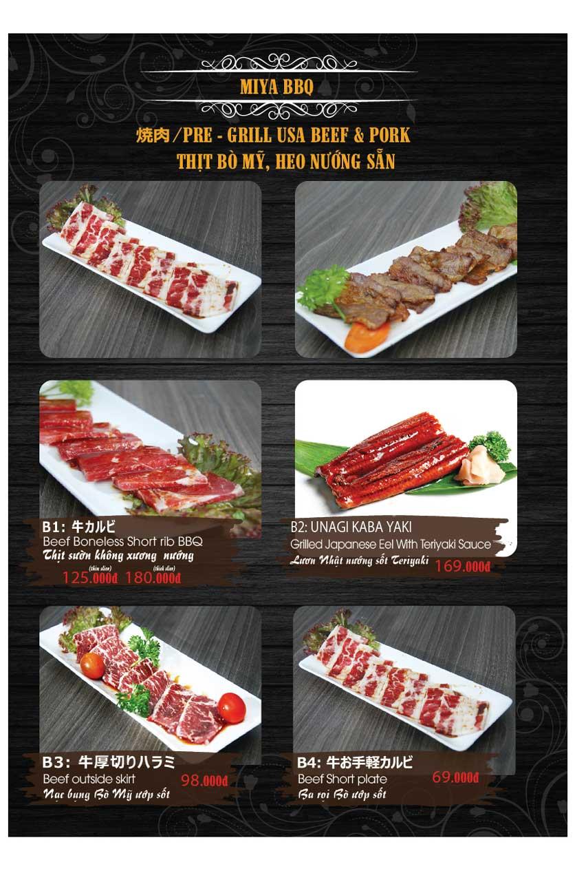 Menu Miya Sushi & BBQ  32