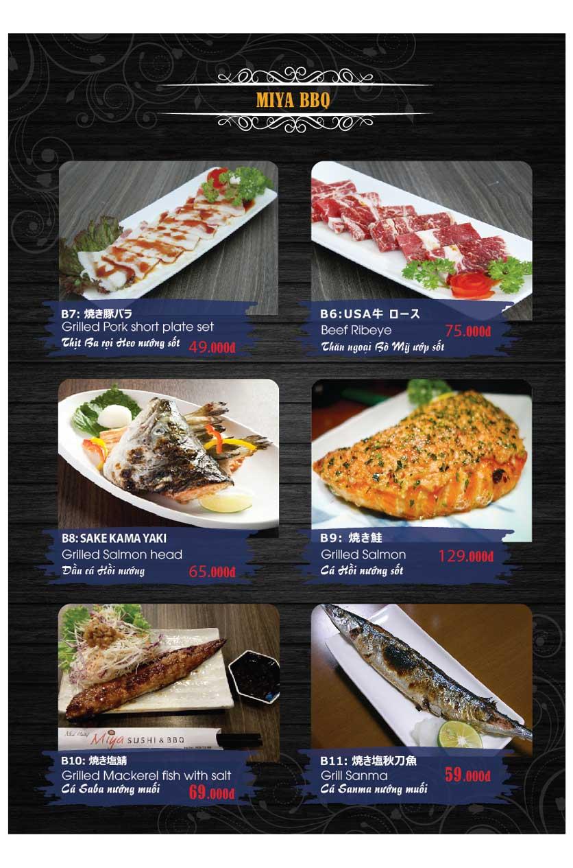 Menu Miya Sushi & BBQ  33