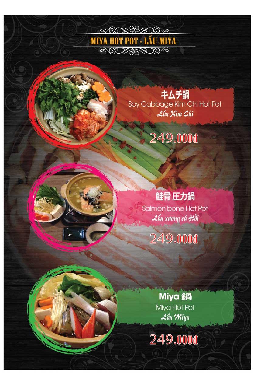 Menu Miya Sushi & BBQ  34