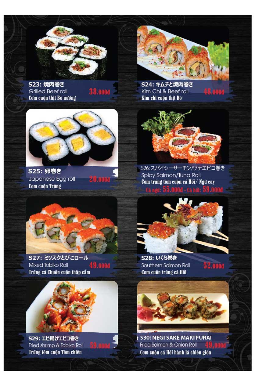 Menu Miya Sushi & BBQ  4