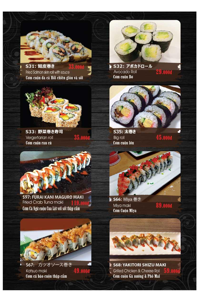 Menu Miya Sushi & BBQ  5
