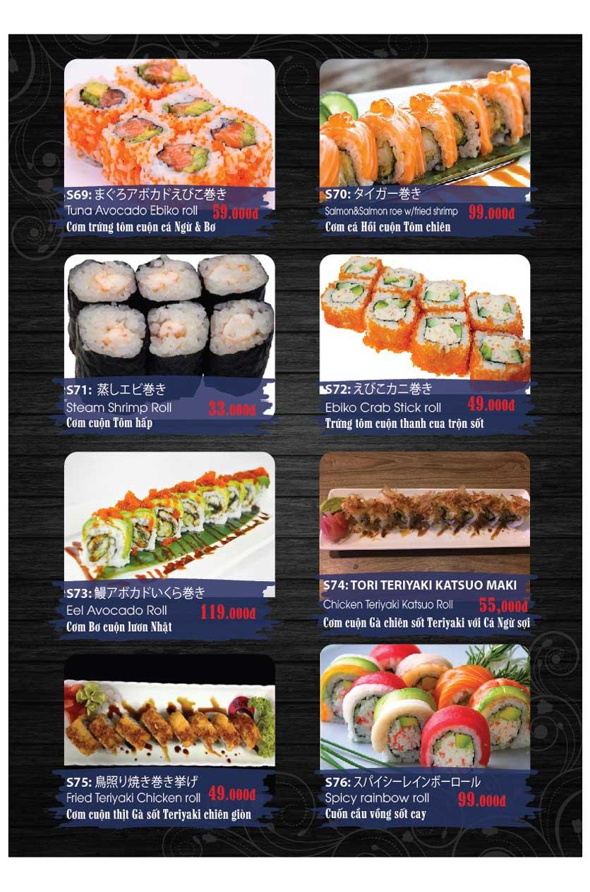 Menu Miya Sushi & BBQ  6