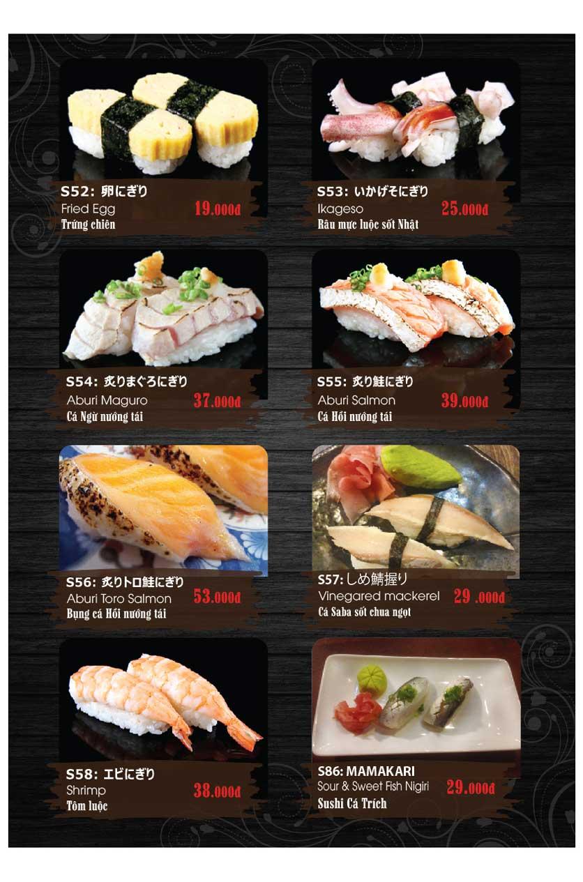 Menu Miya Sushi & BBQ  7
