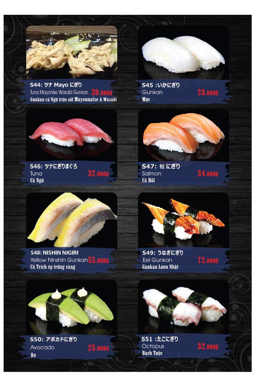 Menu Miya Sushi & BBQ  8