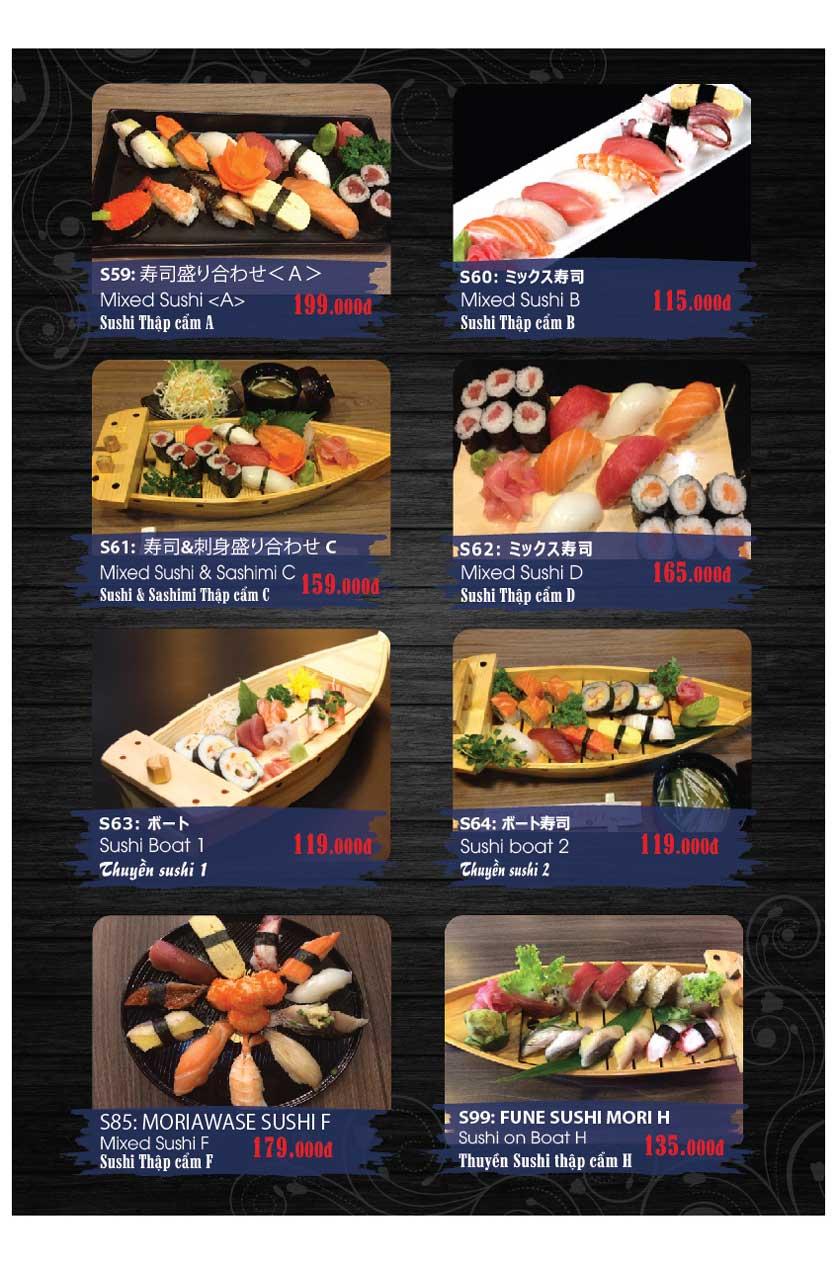 Menu Miya Sushi & BBQ  9