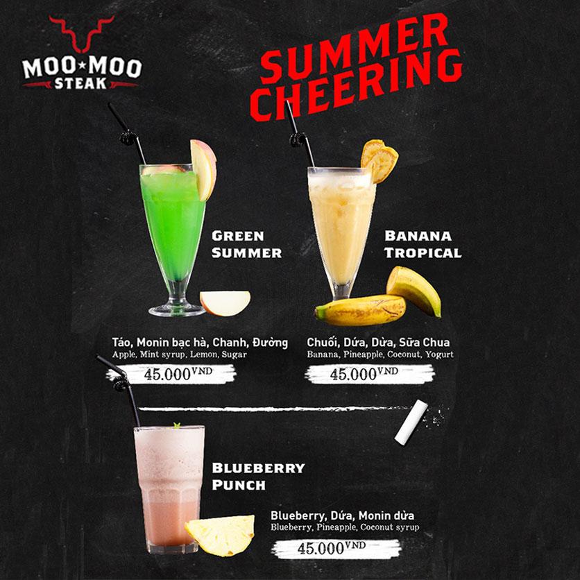Menu Moo Moo Steak - Times City 17