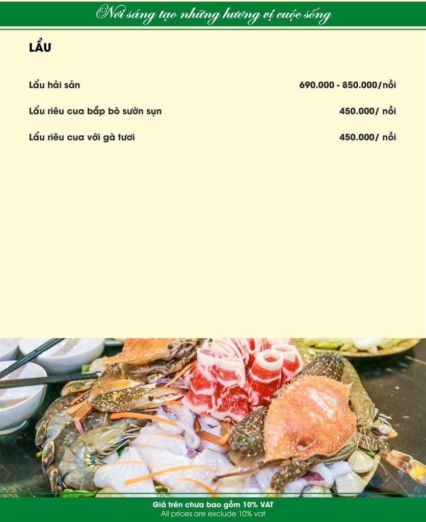 Menu Nam Sơn - Giải Phóng 26