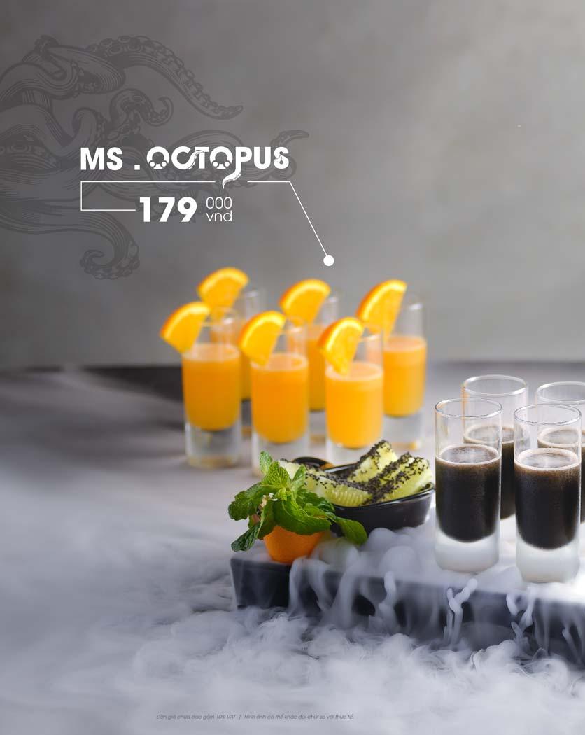 Menu Octopus King - Nguyễn Chí Thanh 13