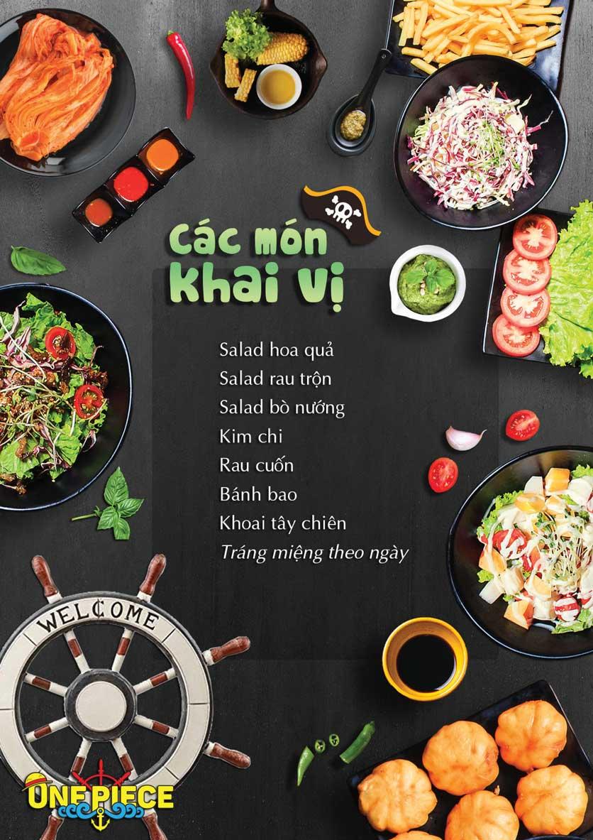 Menu One Piece – Nguyễn Chí Thanh  7