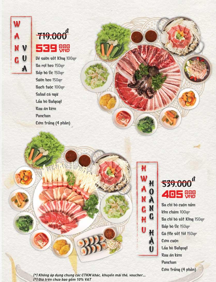 Menu King BBQ - Vincom Lê Thánh Tôn 3