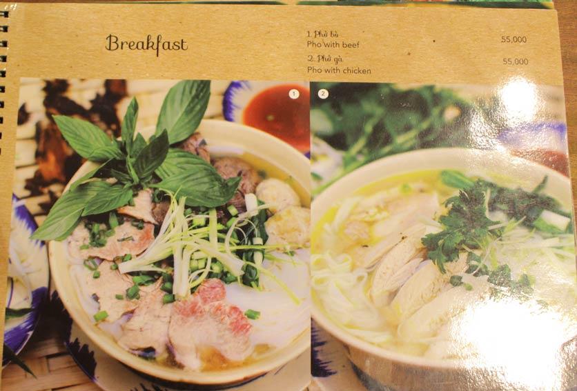 Menu Rice Field – Homecooked Vietnamese Cuisine 1