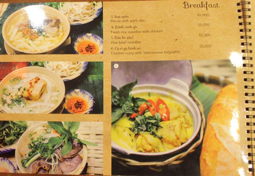 Menu Rice Field – Homecooked Vietnamese Cuisine 2