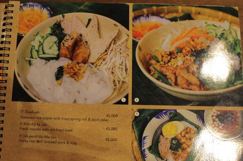 Menu Rice Field – Homecooked Vietnamese Cuisine 3