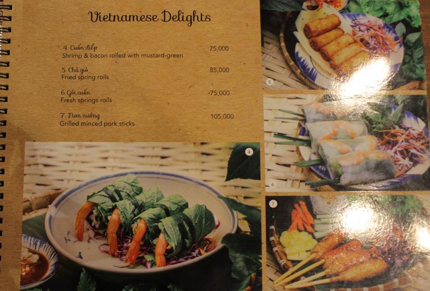 Menu Rice Field – Homecooked Vietnamese Cuisine 5
