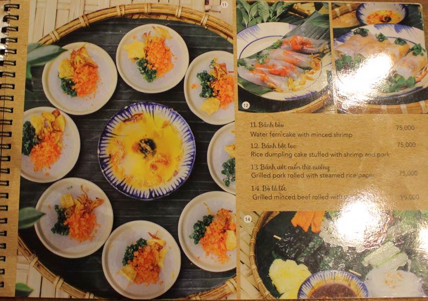 Menu Rice Field – Homecooked Vietnamese Cuisine 7